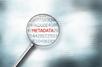 Reading Metadata On Digital Computer Screen With A Magnifying Gl