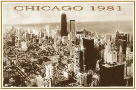 Chicago 1981 postcard